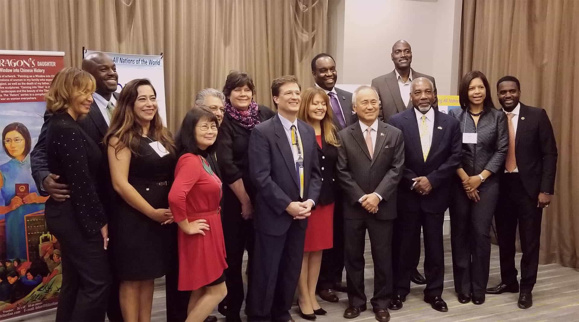 PK with the advisory board at the world chamber of commerce